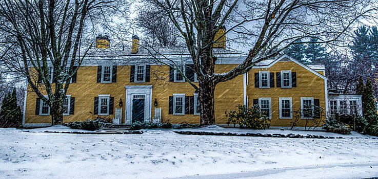 Bedford Village Inn - Snow by Mike Berry