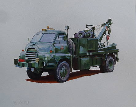 Bedford wrecker AFS by Mike Jeffries
