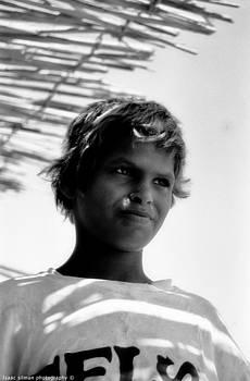 Isaac Silman - bedouin child Sinai EGYPT