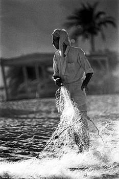 Isaac Silman - Bedouin Fisherman Sinai Egypt