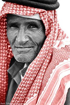 Isaac Silman - Bedouin with Caffia Sinai Egypt