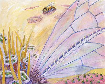Bee's Wings by Shoshanah Dubiner