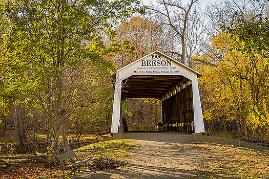 Jack R Perry - Beeson covered bridge