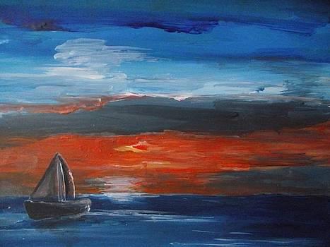 'Before the Sunset' by Paula  Heffel