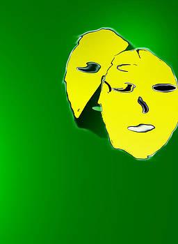 Behind The Mask by John Krakora