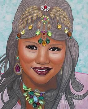 Bejeweled Beauties - Bindiya by Malinda Prudhomme