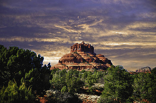 Bell Rock in HDR by Frank Feliciano