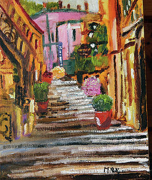 Bellagio Back Street by Michael Helfen
