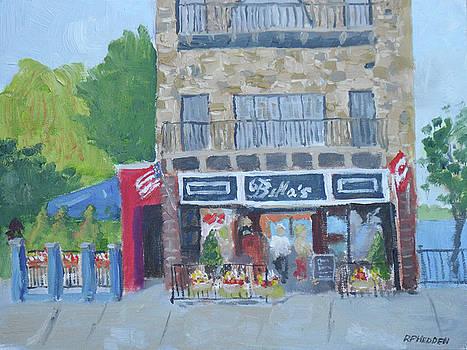 Bella's Restaurant by Robert P Hedden