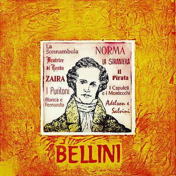 Bellini portrait by Paul Helm