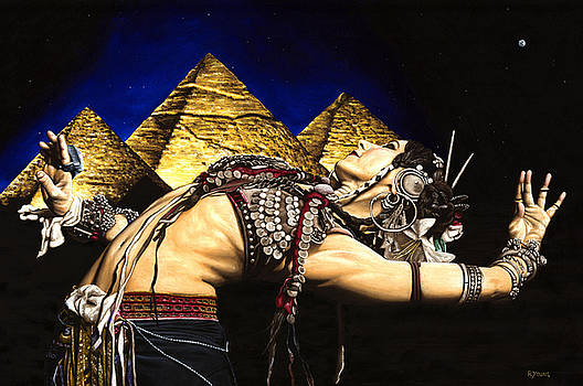 Richard Young - Bellydance of the Pyramids - Rachel Brice