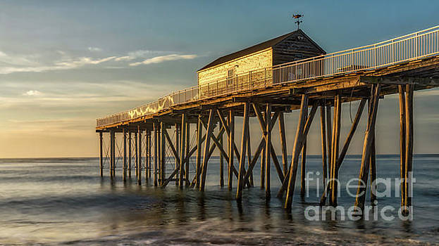 Belmar Fishing Pier by Jerry Fornarotto