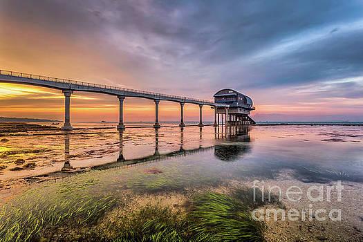 Bembridge Lifeboat Sunset by English Landscapes
