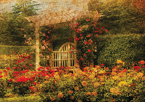 Mike Savad - Bench - The Rose Garden