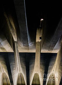 Beneath the Sydney Opera House by Angela DeFrias
