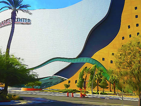 Bent LV International Center Market 3 by Bruce Iorio