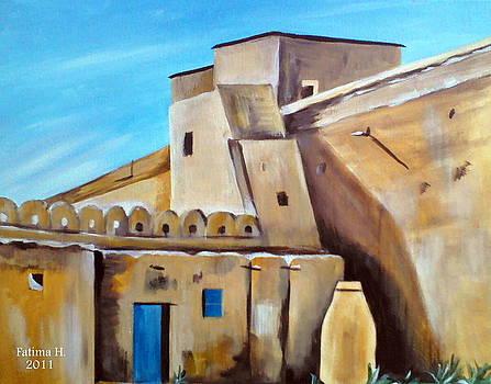 Berber architecture by Fatima Hameurlaine