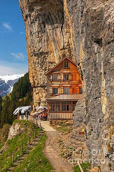 Berggasthaus Aescher Wildkirchli by Caroline Pirskanen