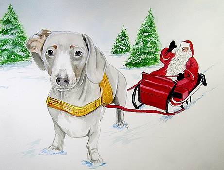 Bernie Reindeer by Carol Blackhurst