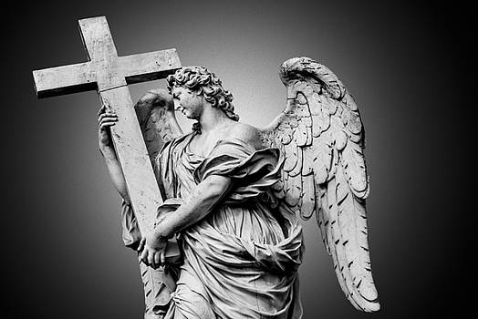 Bernini's statue of angel by Erik Brede