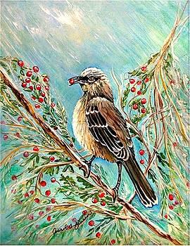 Berry picking time by Carol Allen Anfinsen