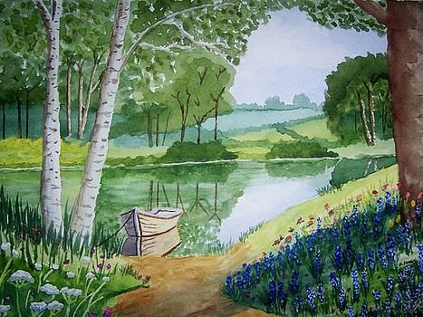 Beside Still Waters by B Kathleen Fannin