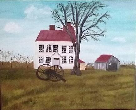 Best Farm at Monocacy Battlefield by Rebecca Jackson