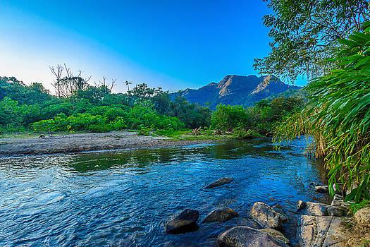 Betari River by Fabio Giannini