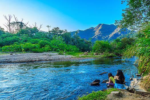Betari River-1 by Fabio Giannini
