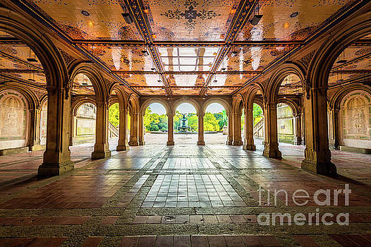 Bethesda Terrace by Inge Johnsson