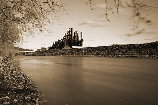 Bethlehem Steel Along the Lehigh by Jennifer Ancker