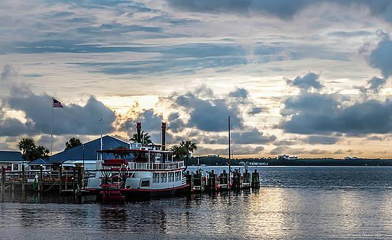 Betsy Ann River Boat 2 by Debra Forand