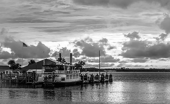Betsy Ann River Boat  by Debra Forand