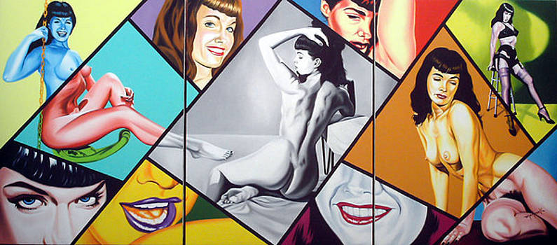 Bettie Page  by Hector Monroy