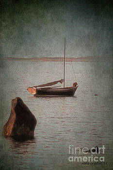 Between a rock and a boat place by Rene Crystal