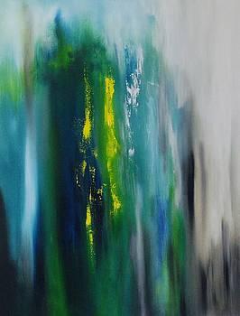 Between the Golden Rod by Larry Ney  II