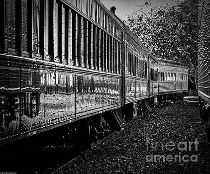 Between Trains by Mitch Shindelbower