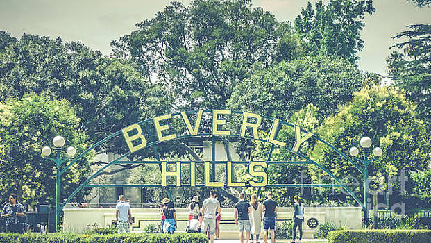 Beverly Hills - Sign by Pete Edmunds