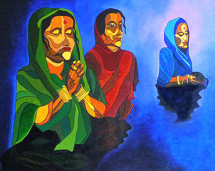 Bhakti-faith by Sarojit Mazumdar