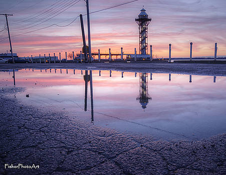 Bicentennial Tower Reflection by Brian Fisher