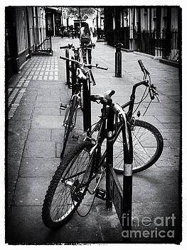 Bicycles in a London Street by Lynn Bolt