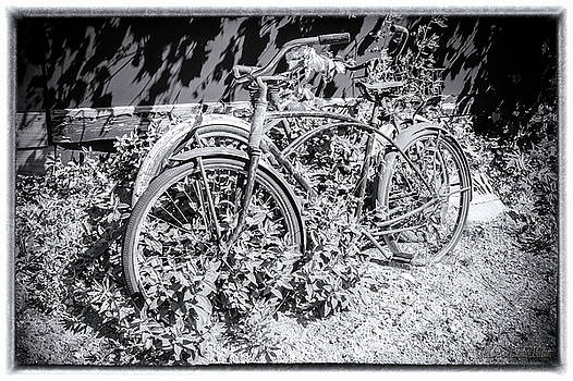 Bicycles of old by LeeAnn McLaneGoetz McLaneGoetzStudioLLCcom