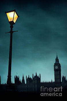 Big Ben And The Houses Of Parliament By Night by Lee Avison