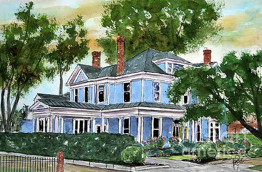 Big Blue House by Tim Ross
