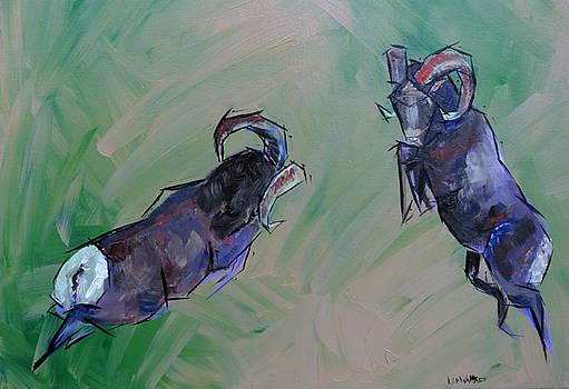 Big Horn Battle by Lee Walker