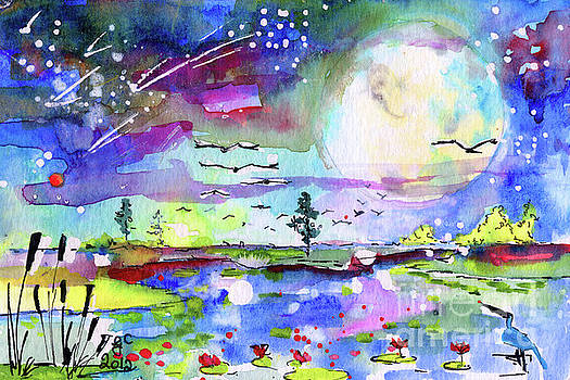 Ginette Callaway - Big Moon Wetland Magic
