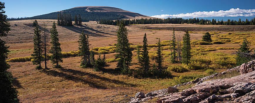 Big Powderhorns Sunrise Wyoming by Steve Gadomski