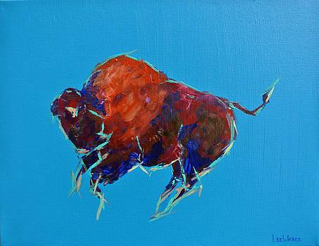 Big Sky Buffalo by Lee Walker