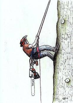 Big stihl chainsaw needed by Gordon Lavender