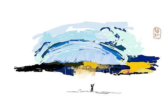 Big Storm Coming by Debbi  Saccomanno Chan